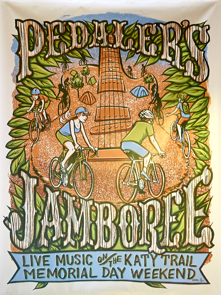 Pedaler's Jamboree is a fun annual ride that starts downtown on the MKT Trail